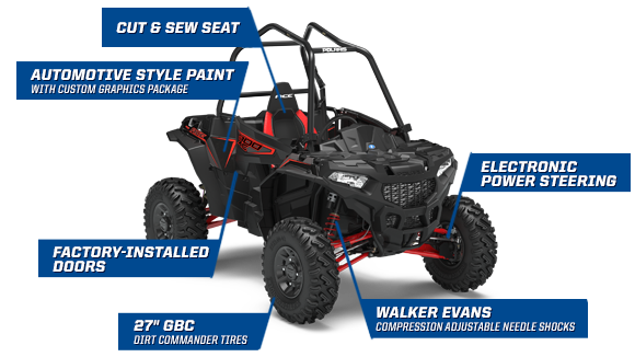 Polaris ACE 900 XC - ULTIMATE ADVENTURE WITH THE XC TRAIL PACKAGE