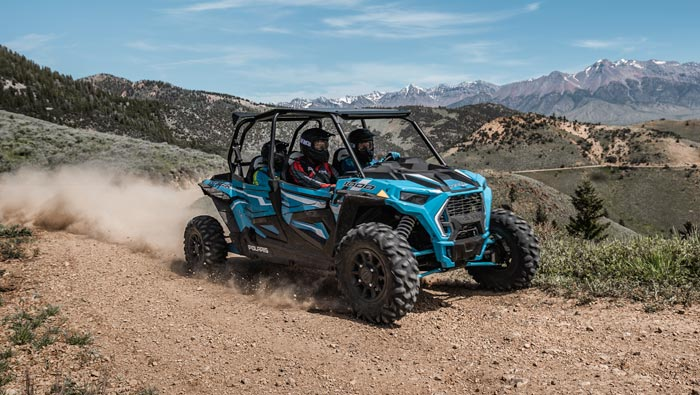 RZR XP 4 1000 EPS - FEEL THE THRILL OF 110 HP